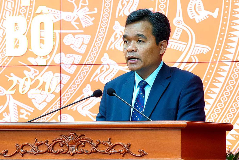 Công bố quyết định của Bộ Chính trị chuẩn y Bí thư Tỉnh ủy Gia Lai - Ảnh 2.