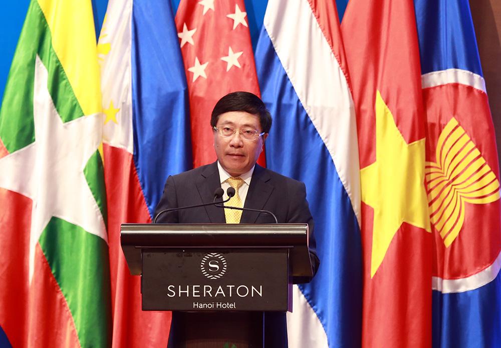 Củng cố năng lực tự cường, vai trò trung tâm và giá trị tồn tại của ASEAN - Ảnh 1.