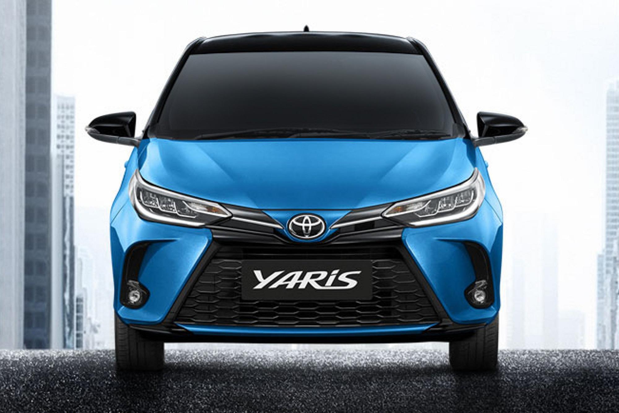 Ra mắt Toyota Yaris 2021: Đầu như Camry, có chi tiết gần giống Corolla Cross - Ảnh 1.