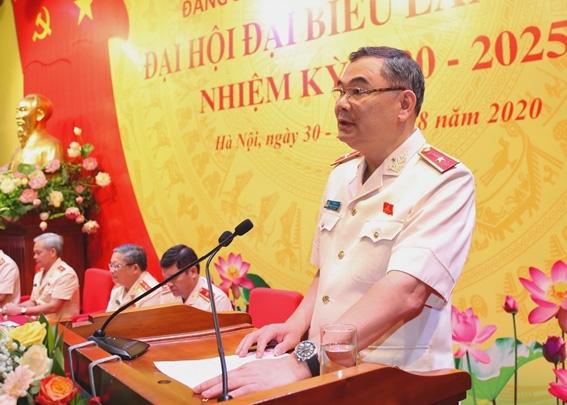 Thiếu tướng Tô Ân Xô được bầu giữ chức Bí thư Đảng ủy Văn phòng Bộ Công an - Ảnh 2.