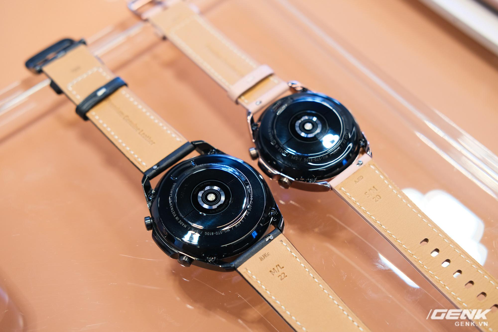 Trên tay đồng hồ Samsung Galaxy Watch 3 và tai nghe không dây chống ồn hạt đậu Galaxy Buds Live - Ảnh 3.