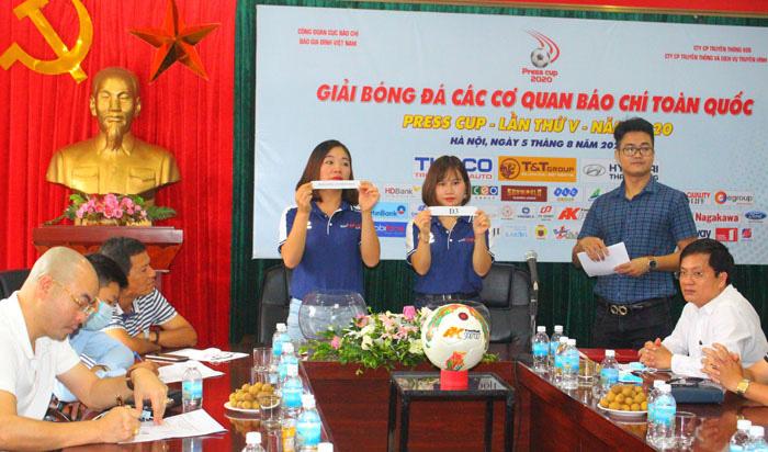 Hà Nội: Tổ chức bốc thăm vòng loại Press Cup 2020 - Ảnh 4.