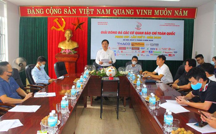 Hà Nội: Tổ chức bốc thăm vòng loại Press Cup 2020 - Ảnh 2.