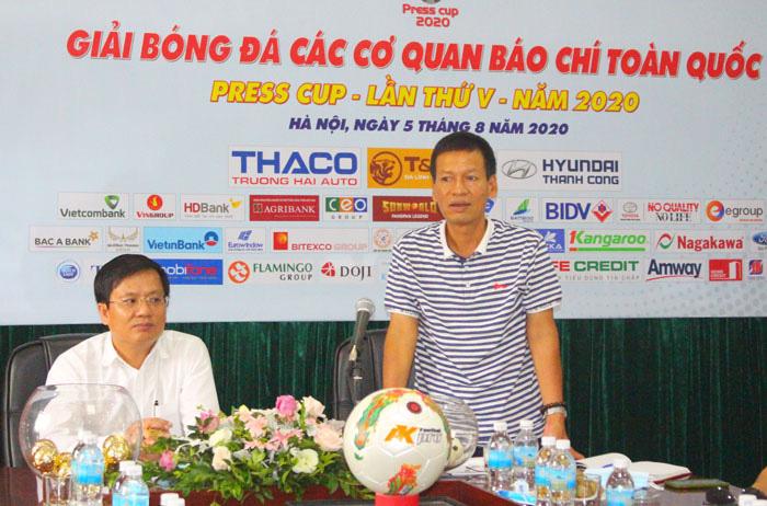 Hà Nội: Tổ chức bốc thăm vòng loại Press Cup 2020 - Ảnh 3.