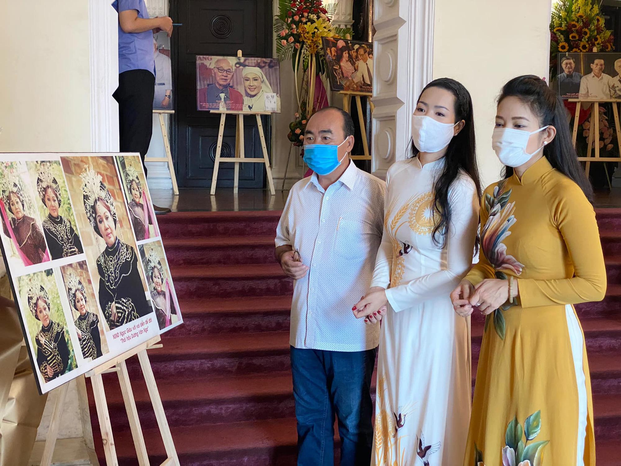 NSƯT Trịnh Kim Chi: Lửa sân khấu đối với chúng tôi mạnh tới mức không gì dập tắt được - Ảnh 2.