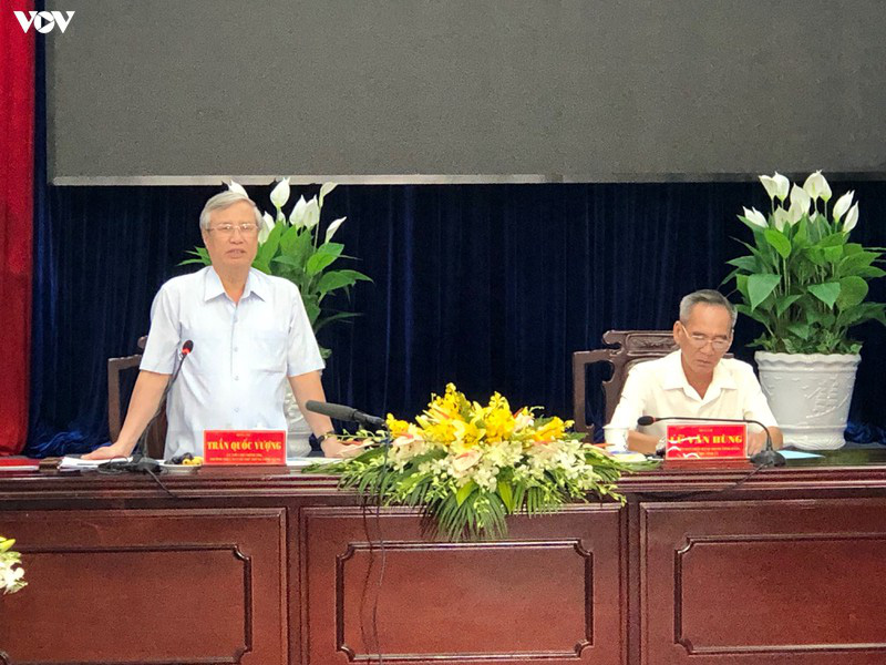 Ông Trần Quốc Vượng làm việc tại tỉnh Bạc Liêu - Ảnh 2.