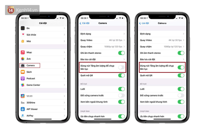 iOS 14 đưa tính năng dùng nút âm lượng để chụp ảnh liên tục quay trở lại trên iPhone - Ảnh 2.