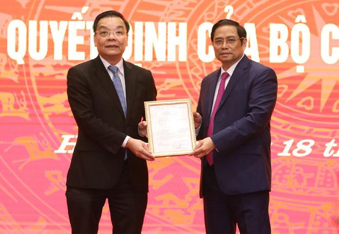 Bộ trưởng Khoa học và Công nghệ Chu Ngọc Anh làm Phó Bí thư Thành ủy Hà Nội - Ảnh 1.