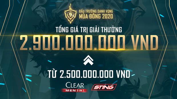 ĐTDV mùa Đông 2020 bất ngờ tăng tiền thưởng ngay giữa mùa giải, nhà vô địch có thể nhận tới cả tỷ đồng - Ảnh 1.