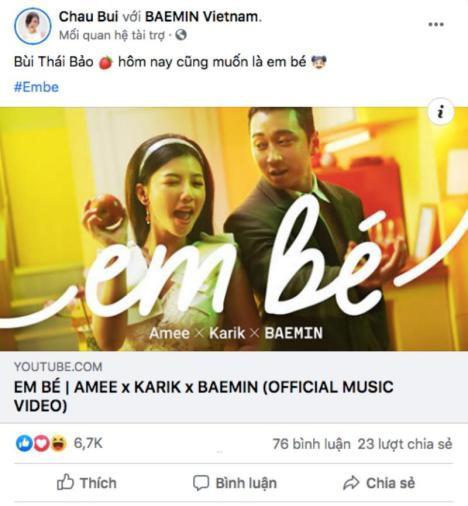 """Top 10 trending MV của Karik và Amee khiến dân tình hú nhau là """"Em Bé"""" - Ảnh 7."""
