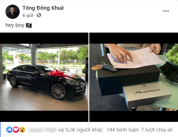 """Thiếu gia 21 tuổi bạn thân CEO Matt Liu mua siêu xe 8 tỷ tặng bạn gái, hội chị em ghen tị hết nấc vì """"tổng tài"""" vừa đẹp trai giàu có lại hào phóng vô cùng - Ảnh 3."""