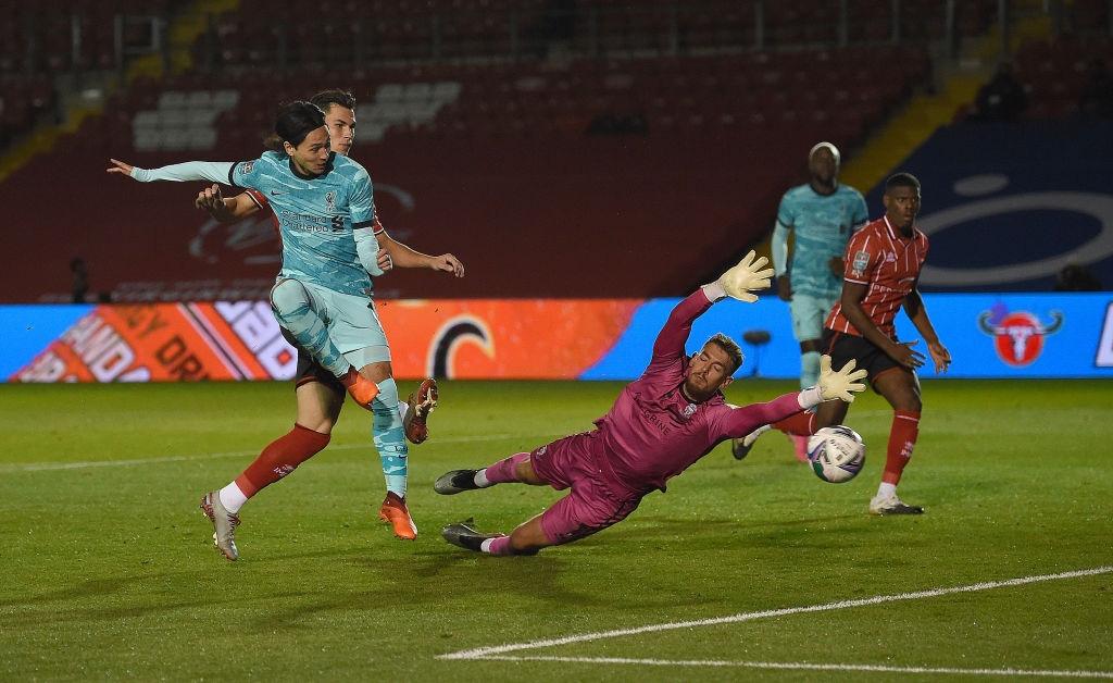 Đối thủ cũ của Công Phượng lập cú đúp giúp Liverpool đại thắng 7-2 ở cúp Liên đoàn Anh - Ảnh 2.