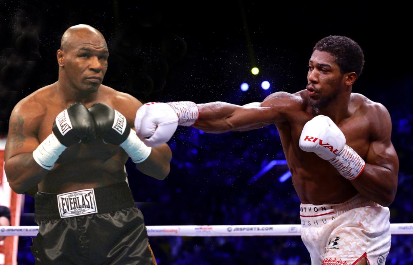 Mike Tyson sẵn sàng thượng đài cùng nhà vô địch thế giới Anthony Joshua - Ảnh 1.