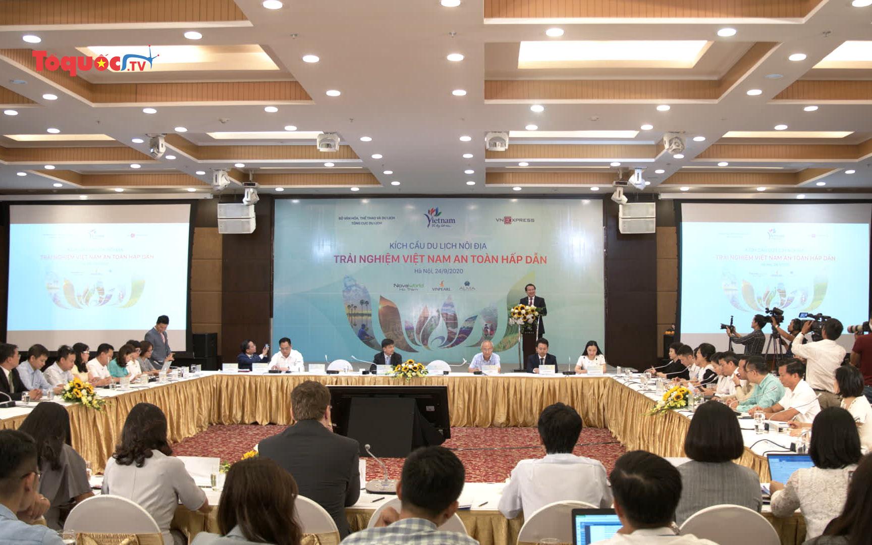 Kích cầu du lịch nội địa - trải nghiệm Việt Nam an toàn hấp dẫn
