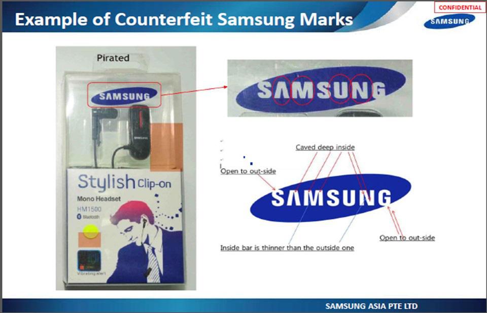 Xử phạt 70 triệu đồng cửa hàng kinh doanh linh kiện giả mạo nhãn hiệu Apple và Samsung - Ảnh 1.