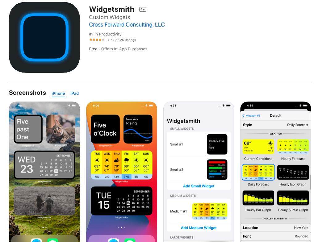 4 ứng dụng miễn phí giúp bạn tạo widget tuyệt đẹp trên iOS 14 - Ảnh 1.