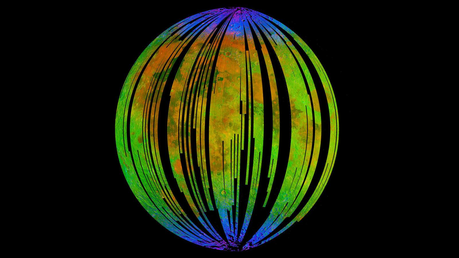 Mặt trăng đang gỉ sét và Trái đất là nguyên nhân - Ảnh 1.