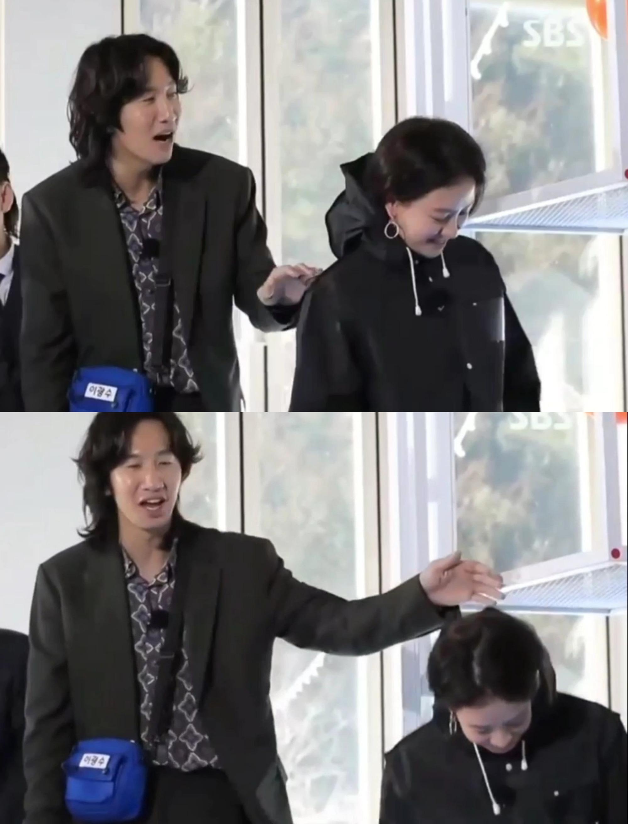 Chỉ với 1 động thái nhỏ với Song Ji Hyo diễn ra trong 3 giây, Lee Kwang Soo đã lộ rõ nét tính cách thật ngoài đời - Ảnh 4.