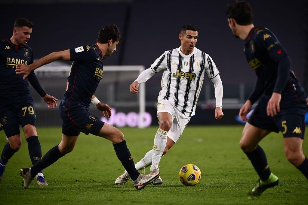 Ronaldo tỏa sáng, Juventus nhọc nhằn vào tứ kết Coppa Italia sau màn rượt đuổi tỷ số hấp dẫn - Ảnh 8.