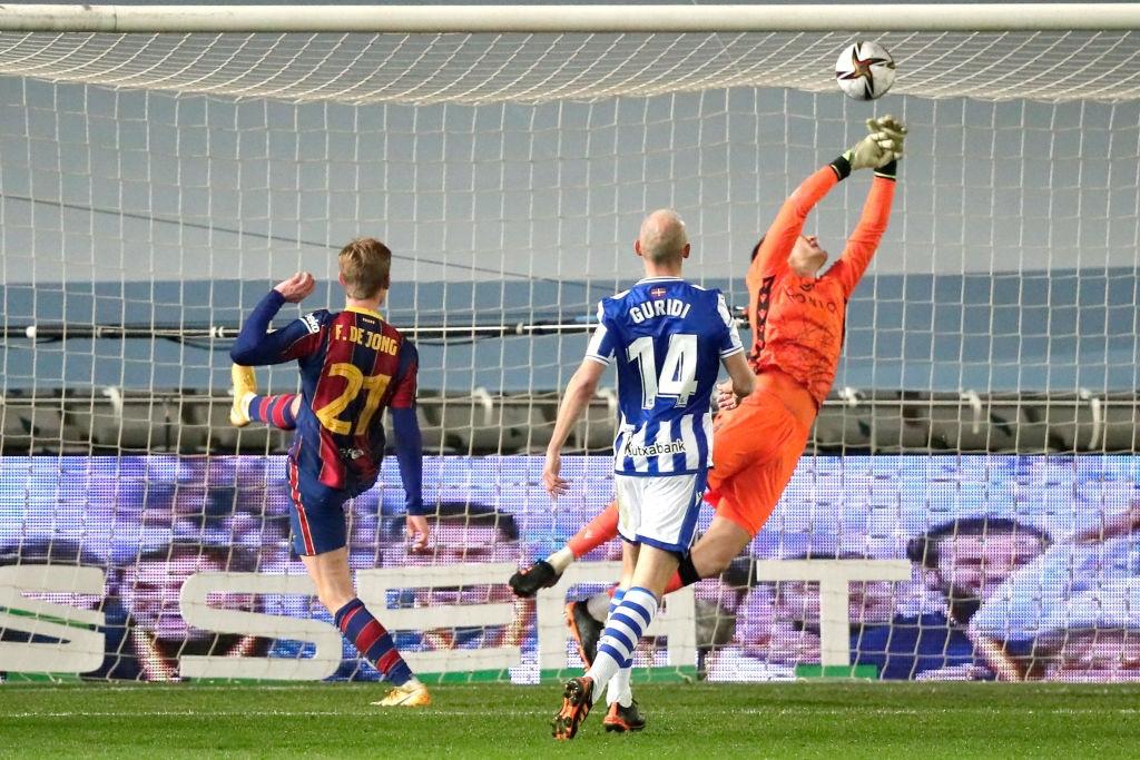 Barca vào chung kết Siêu cúp Tây Ban Nha sau loạt luân lưu 11 m cân não - Ảnh 5.