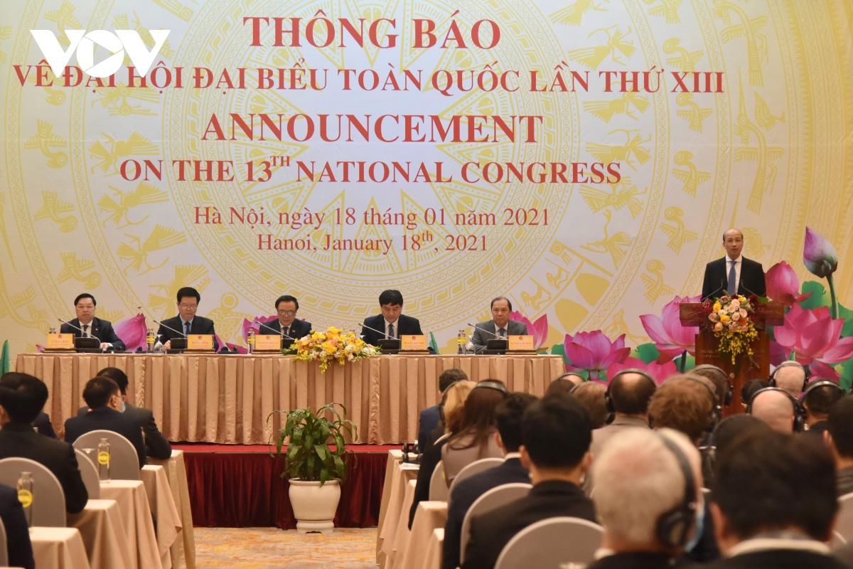 1.587 đại biểu dự Đại hội đại biểu toàn quốc lần thứ XIII của Đảng - Ảnh 1.