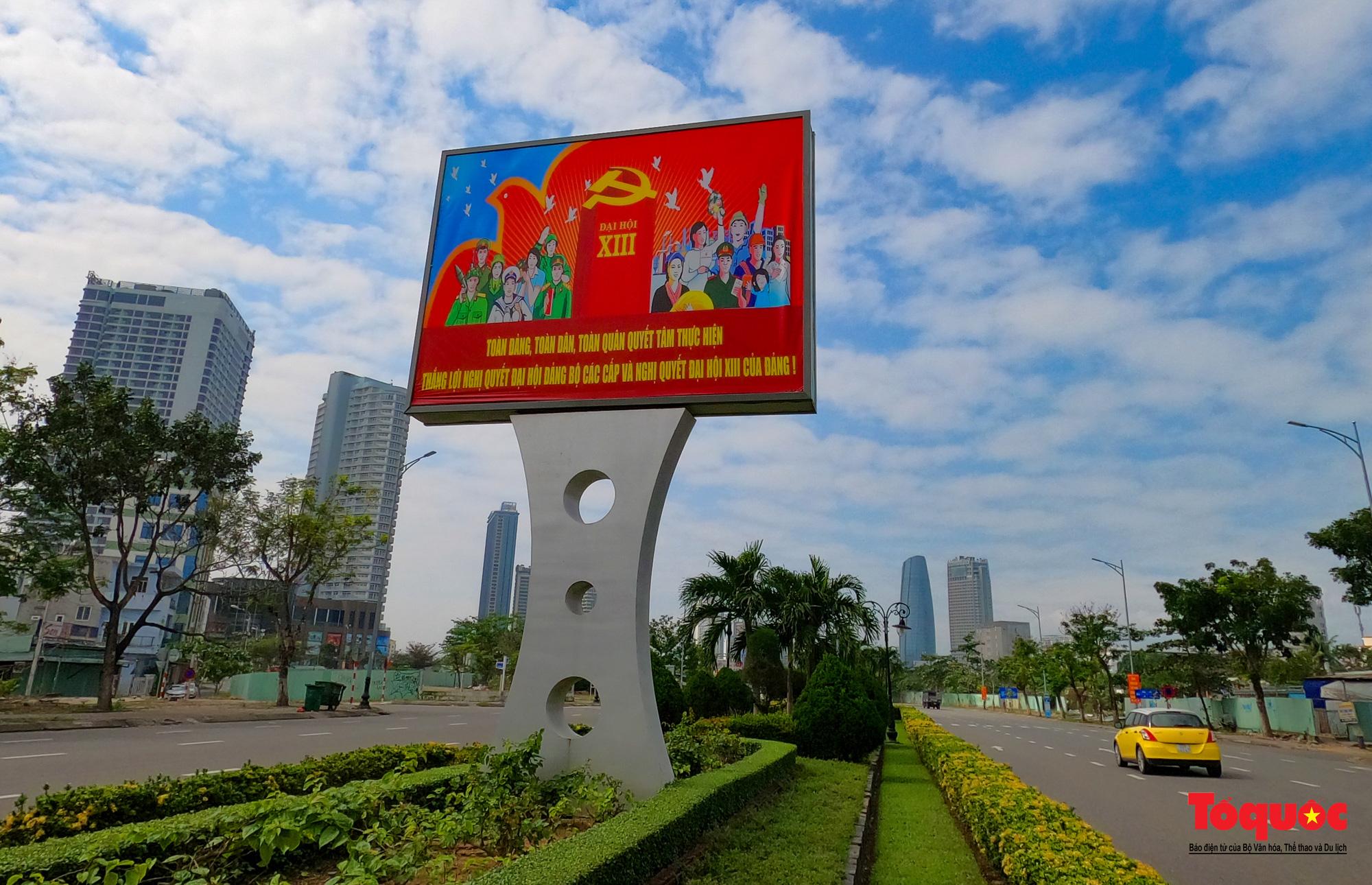 Cả nước rực rỡ cờ hoa chào mừng Đại hội Đảng lần thứ XIII - Ảnh 7.