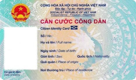 Mẫu thẻ Căn cước công dân gắn chíp điện tử được Bộ Công an quy định như thế nào? - Ảnh 1.
