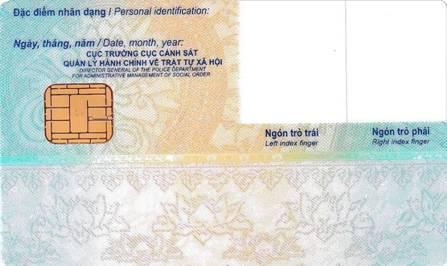 Mẫu thẻ Căn cước công dân gắn chíp điện tử được Bộ Công an quy định như thế nào? - Ảnh 2.