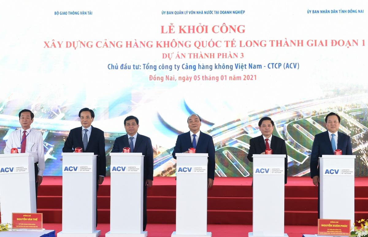 Thủ tướng phát lệnh khởi công Cảng hàng không quốc tế Long Thành - Ảnh 2.