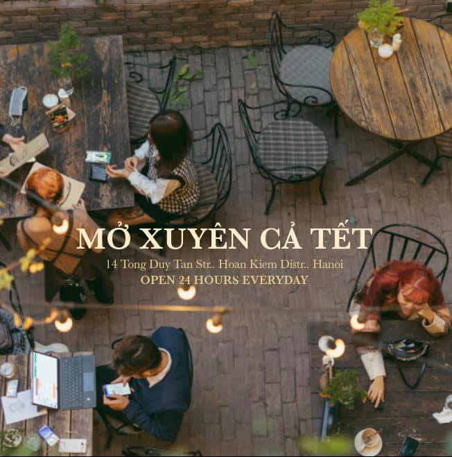 Update ngay loạt quán cà phê mở xuyên Tết ở Hà Nội cho dân tình tha hồ đi chill - Ảnh 1.