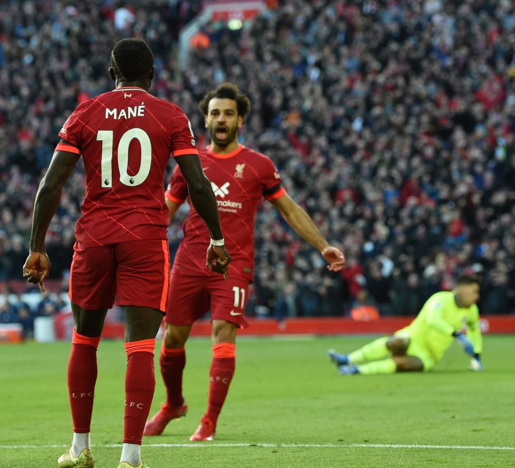 Salah chuyền, Mane ghi bàn, 1-0 cho Liverpool