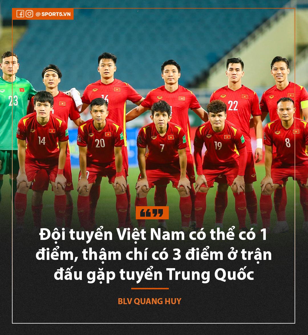 """BLV Quang Huy: """"Tuyển Việt Nam sẽ có ít nhất 1 điểm, thậm chí là 3 điểm"""" - Ảnh 3."""