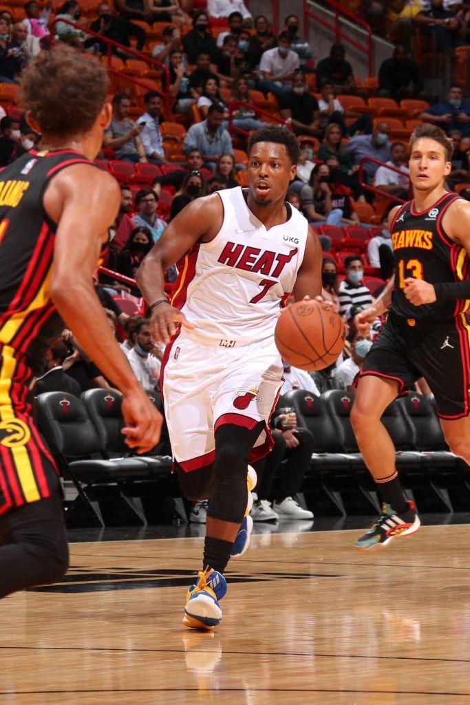 """Kyle Lowry tạo ra """"cơn hỗn loạn có tổ chức"""" tại Miami Heat - Ảnh 1."""