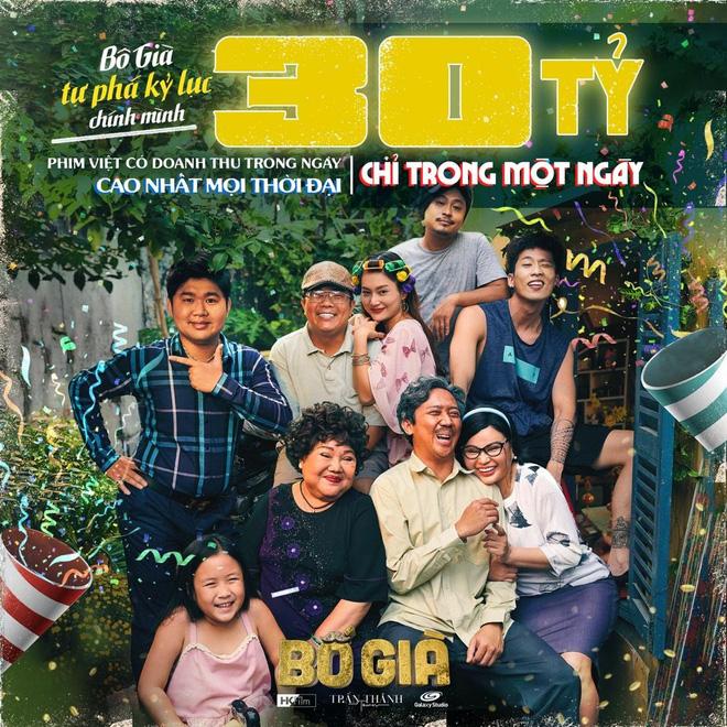Đây là 10 kỷ lục khủng của Bố Già đến thời điểm hiện tại, Trấn Thành chính thức soán ngôi vua phòng vé phim Việt - Ảnh 3.