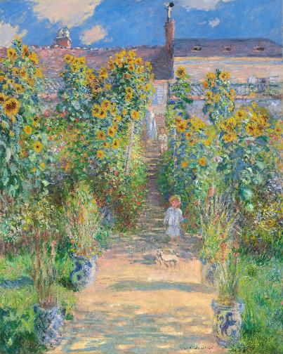 """""""Lặng yên rực rỡ"""" - Triển lãm số về Claude Monet và Pierre Bonnard - Ảnh 1."""