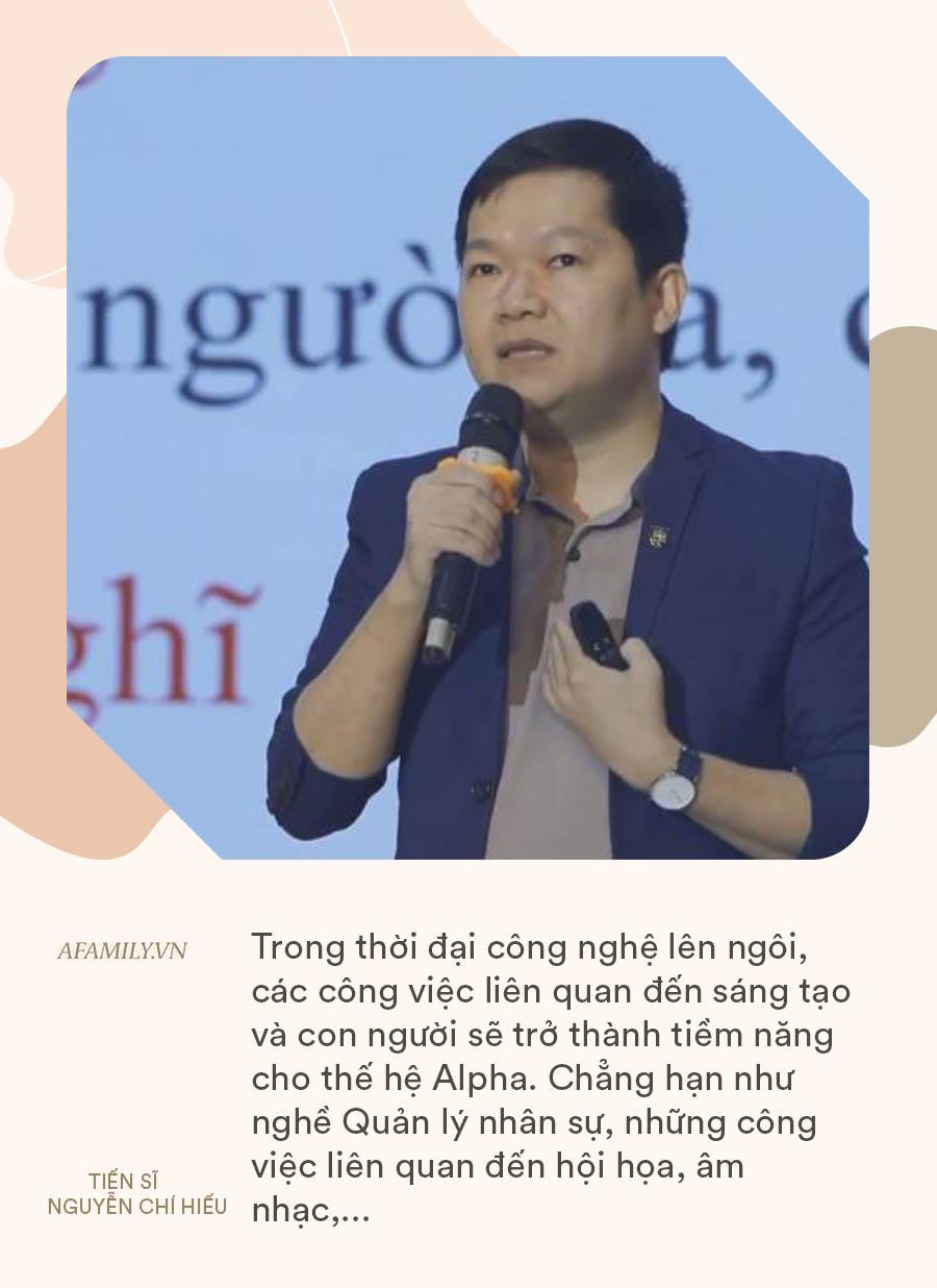 Tiến sĩ Standford Nguyễn Chí Hiếu chỉ ra những kỹ năng thế hệ Alpha cần có, bố mẹ chú trọng bồi dưỡng để tương lai con không thất nghiệp - Ảnh 6.
