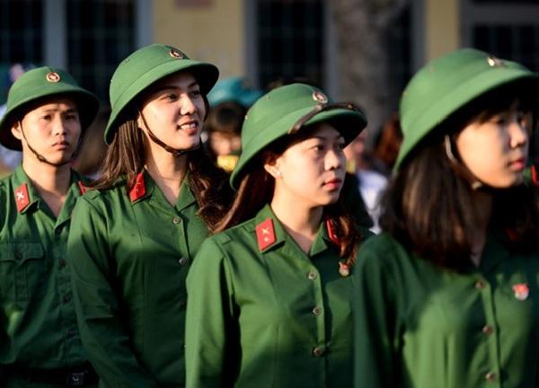 Năm 2021, các trường quân đội tuyển 88 thí sinh nữ  - Ảnh 2.