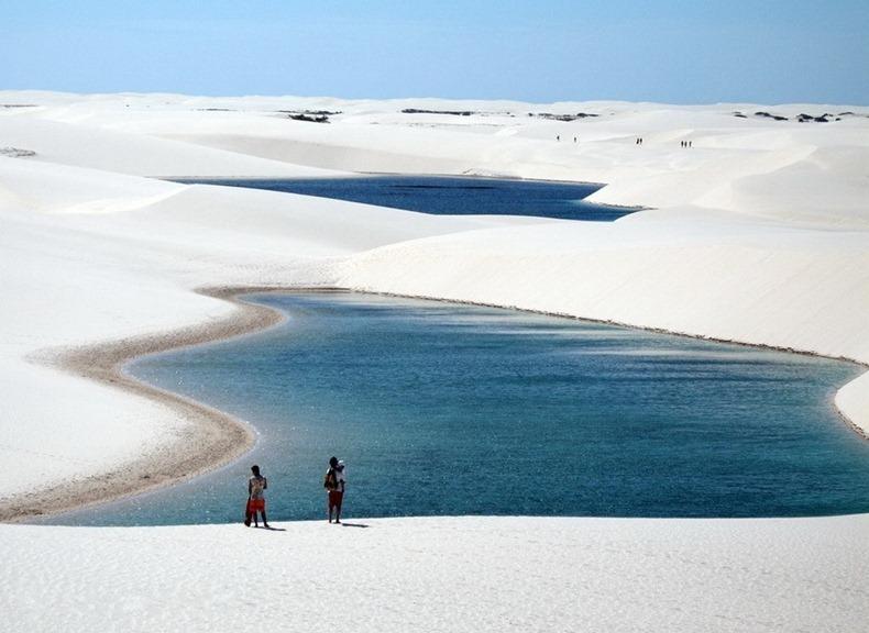 """Sa mạc """"ảo diệu"""" nhất thế giới: Gọi là sa mạc nhưng thực ra đầy… nước! - Ảnh 1."""