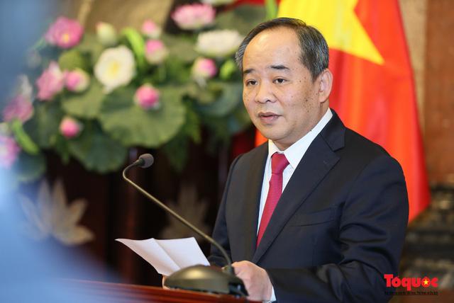 Ông Lê Khánh Hải được bổ nhiệm giữ chức Chủ nhiệm Văn phòng Chủ tịch nước - Ảnh 1.
