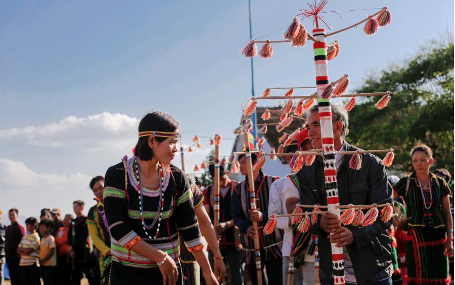 Xây dựng mô hình điểm Câu lạc bộ sinh hoạt văn hóa của dân tộc Mạ ở Đắk G'long, tỉnh Đắk Nông - Ảnh 1.