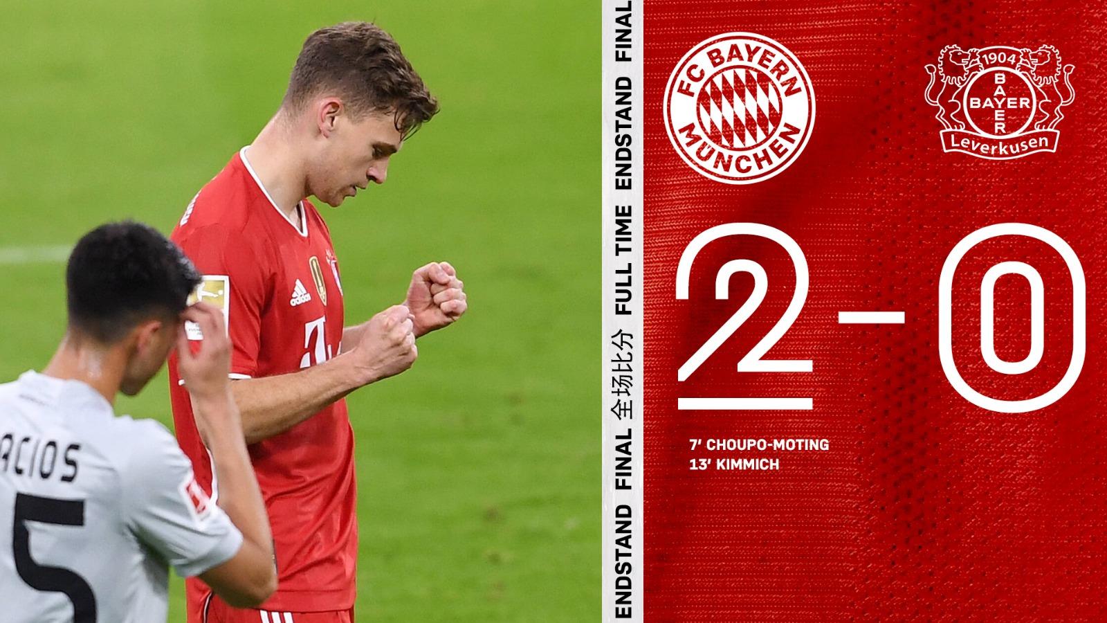 Bayern Munich băng băng về đích ở Bundesliga - Ảnh 1.