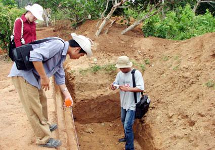 Cấp phép khai quật tại di chỉ Vòng thành Đá Trắng, tỉnh Bà Rịa - Vũng Tàu - Ảnh 1.