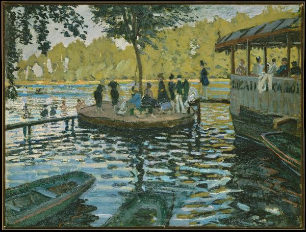"""""""Ngoài"""" và """"trong"""" ở triển lãm của Claude Monet và Pierre Bonnaer tại VCCA - Ảnh 3."""