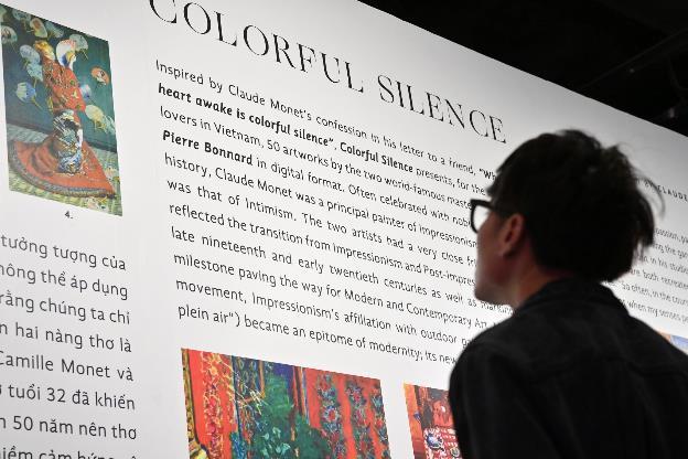 """""""Ngoài"""" và """"trong"""" ở triển lãm của Claude Monet và Pierre Bonnaer tại VCCA - Ảnh 12."""