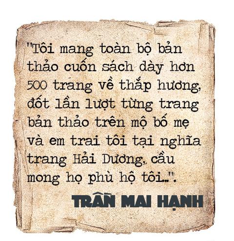 Trần Mai Hạnh: Những tai họa khôn lường và câu chuyện về chiếc ba lô thấm máu đồng đội (Kỳ cuối) - Ảnh 10.