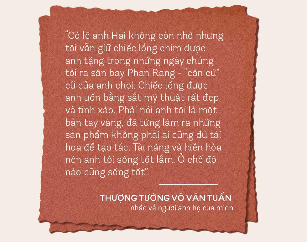 Anh Hai của Thượng tướng Võ Văn Tuấn: Nếu chiến tranh không kết thúc, tôi và ba tôi, em tôi có thể phải gặp nhau ở hai đầu họng súng - Ảnh 9.