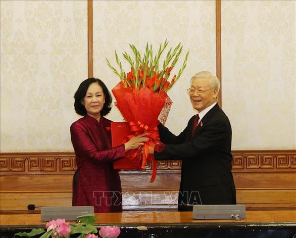 Bà Trương Thị Mai được phân công làm Trưởng Ban Tổ chức Trung ương - Ảnh 1.