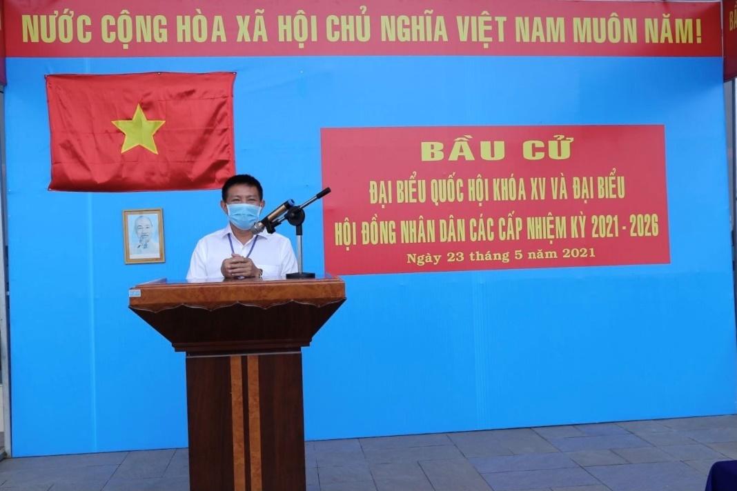 Gần 700 cử tri đi bầu cử tại đỉnh núi Bà Đen Tây Ninh - Ảnh 2.