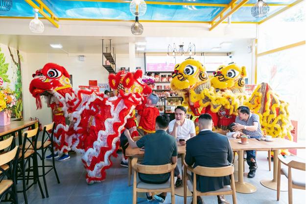 """King Coffee tưng bừng khai trương 2 cửa hàng mới tại thành phố """"trong lòng"""" thành phố - Ảnh 7."""