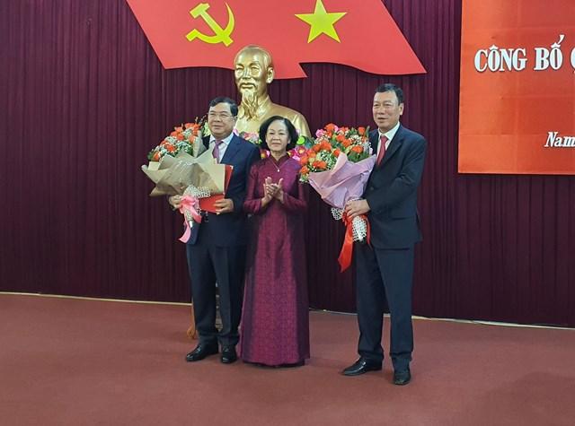 Phân công Phó Trưởng ban Nội chính Trung ương Phạm Gia Túc giữ chức Bí thư Tỉnh ủy Nam Định - Ảnh 1.